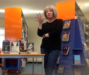 Catherine Fisher's talk at Cyncoed Library, Cardiff Met, for World Book Day 2016