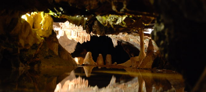 Tolkien's Glittering Caves of Aglarond and Cheddar Gorge and Caves in Somerset