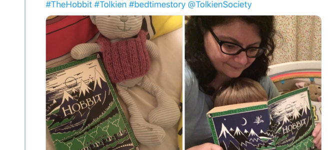 Reading J.R.R. Tolkien's The Hobbit with my 6-and-a-half-year-old son: a journal