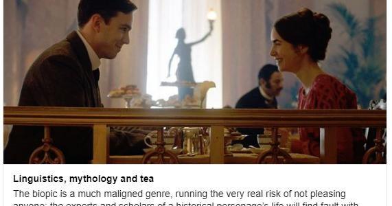 "TLS review of Dome Karukoski biopic ""Tolkien"""